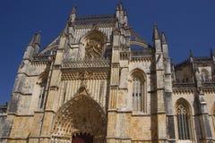 Элементы архитектуры монастырь Batalha Португалия стоковые изображения rf