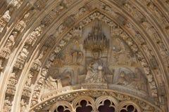 Элементы архитектуры монастырь Batalha Португалия стоковые фотографии rf
