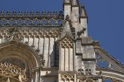 Элементы архитектуры монастырь Batalha Португалия стоковое фото rf
