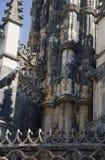 Элементы архитектуры монастырь Batalha Португалия стоковые изображения