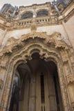 Элементы архитектуры монастырь Batalha Португалия стоковое изображение