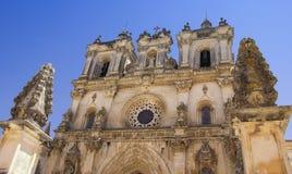 Элементы архитектуры монастыря ¡ s Santa Maria de Alcobà стоковое фото rf