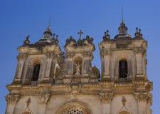 Элементы архитектуры монастыря ¡ s Santa Maria de Alcobà стоковые фотографии rf
