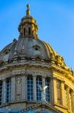 Элементы архитектуры национального парка Montjuic на площади Испании стоковые фотографии rf