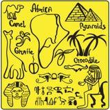 элементы Африки Стоковая Фотография RF
