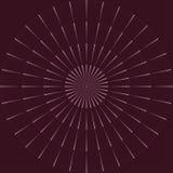 Элементы вектора винтажные - sunburst разрывая лучи Улучшите для приглашений, поздравительных открыток, блогов, плакатов и больше иллюстрация вектора