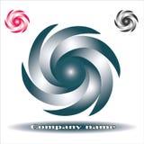 Элементы дизайна логотипа свирли круга вектора абстрактные Origami, вектор бесплатная иллюстрация