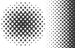 Элементы дизайна полутонового изображения иллюстрация вектора
