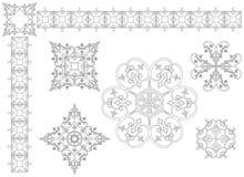 Элементы конструкции год сбора винограда Бесплатная Иллюстрация