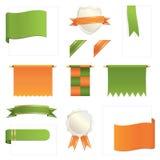 элементы конструкции зеленеют помеец бесплатная иллюстрация