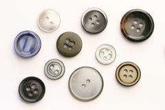 элементы конструкции кнопок Стоковое Изображение