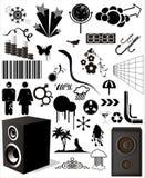 элементы конструкции коллекторные Стоковые Изображения RF