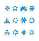 Элементы конструкции логоса Стоковое Изображение