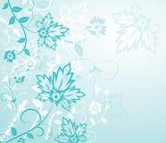 элементы конструкции предпосылки цветут вектор Стоковые Изображения