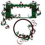 элементы конструкции рождества Стоковые Изображения RF