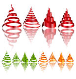 элементы конструкции рождества Стоковое Изображение RF