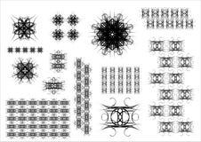 элементы конструкции Стоковые Изображения RF