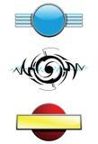 элементы конструкции иллюстрация вектора