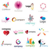 элементы корпоративной конструкции Стоковые Фото