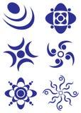 Элементы логоса стоковое фото
