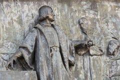 Элементы памятника Колумбус стоковые изображения rf