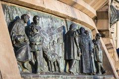 Элементы памятника Колумбус стоковое изображение