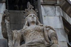 Элементы памятника Колумбус стоковые фотографии rf