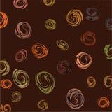 элементы предпосылки коричневые овальные Стоковое фото RF