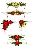 Элементы рождества для ваших дизайнов Стоковые Фото