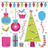 элементы рождества Стоковая Фотография