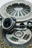 Элементы системы муфты автомобиля с малой глубиной поля стоковая фотография rf