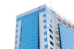 Элементы современной архитектуры стеклянного, стального и конкретного Взгляд зданий стоковое изображение rf