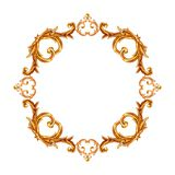 Элементы стиля барокко E иллюстрация штока