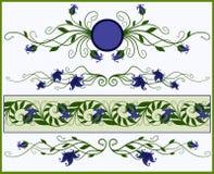 элементы флористические Стоковое фото RF