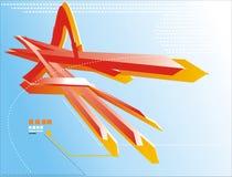 элементы 3d Стоковое Изображение RF