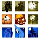 элементы halloween Стоковые Фотографии RF