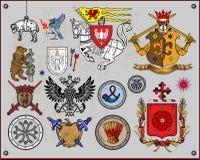 элементы heraldic Стоковая Фотография