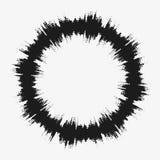 Элемент дизайна вектора полутонового изображения Стоковая Фотография RF