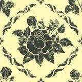 Элемент картины год сбора винограда вектора флористический безшовный. Стоковая Фотография RF