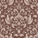 Элемент картины объемного штофа вектора безшовный Элегантная роскошь выбила текстуру для обоев, предпосылок и страницы Стоковое фото RF