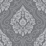 Элемент картины объемного штофа вектора безшовный Элегантная роскошь выбила текстуру для обоев, предпосылок и страницы Стоковое Изображение RF