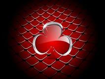 элемент клевера казино Стоковое Изображение RF