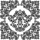 элемент конструкции флористический Стоковые Изображения RF