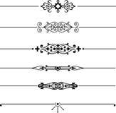 элемент конструкции шикарный Стоковая Фотография RF