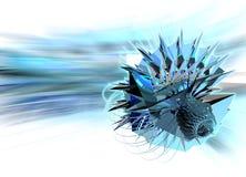 элемент кристаллической конструкции 2 цифровой Стоковая Фотография RF