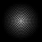 Элемент полутонового изображения Абстрактный геометрический график с patt полутонового изображения иллюстрация вектора
