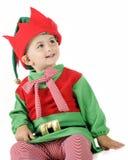 эльф рождества счастливый Стоковые Фото