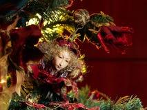 эльф рождества Стоковая Фотография