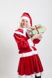 Эльф хелпера Santa Claus Стоковое фото RF