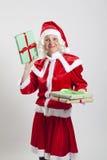 Эльф хелпера Santa Claus Стоковая Фотография RF